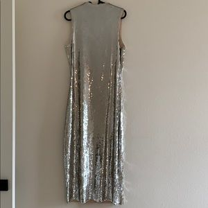 Zara sequin dress